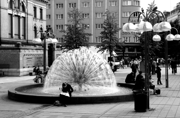 Fountain in sweden